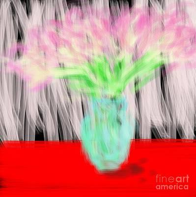 Art By James Eye Digital Art - Wild Flowers On Ice by James Eye
