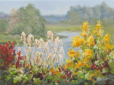 Painting - Wild Garden by Karen Ilari
