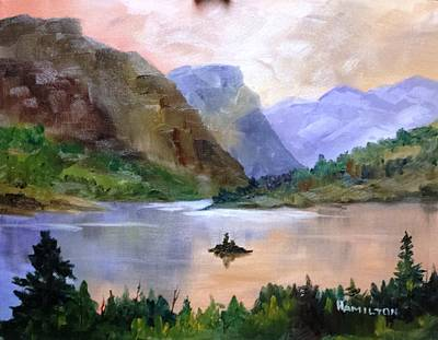 Painting - Wild Goose Island by Larry Hamilton