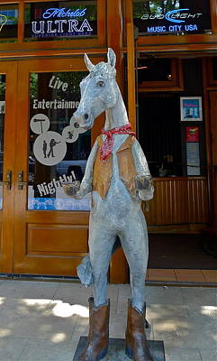 Photograph - Wild Horse Saloon by Denise Mazzocco