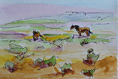 Painting - Wild Horses by Karen McLain
