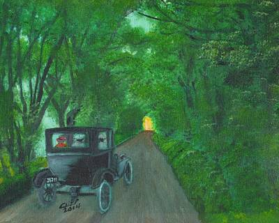 Wild Irish Roads Art Print