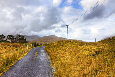 Photograph - Wild Irish Roads Of Connemara by Mark Tisdale