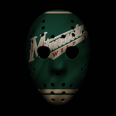 Hockey Photograph - Wild Jersey Mask by Joe Hamilton