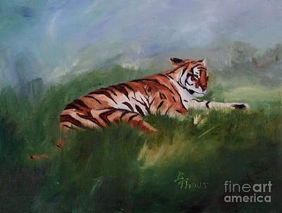 Painting - Wild Kingdom by Brenda Thour