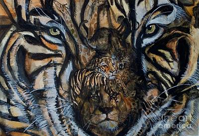 Painting - Wild by Laneea Tolley