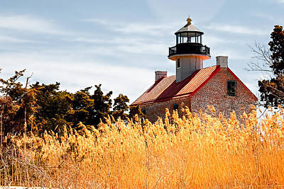 Photograph - Wild Lighthouse by Kristia Adams