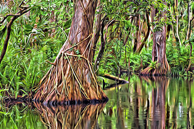 Digital Art - Wild Loxahatchee by Patrick M Lynch