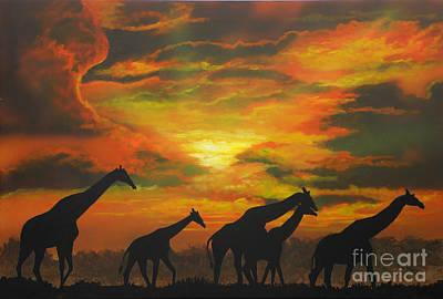 Wild Art Print by Mark Henry