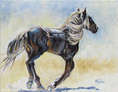 Melody Perez Painting - Wild Motion by Melody Perez