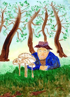 Painting - Wild Mushroom Wonderment by Jim Taylor