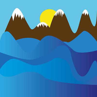Wild Ocean Art Print by Kenneth Feliciano