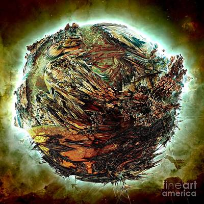 Digital Art - Wild Planet by Bernard MICHEL