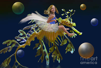 Digital Art - Wild Ride by Angelika Drake