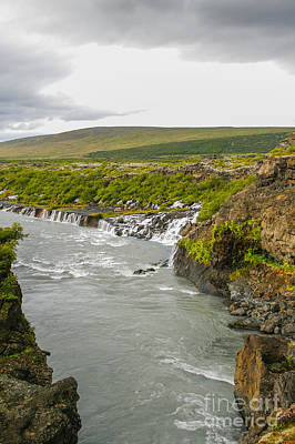 Photograph - Wild River In Iceland by Patricia Hofmeester