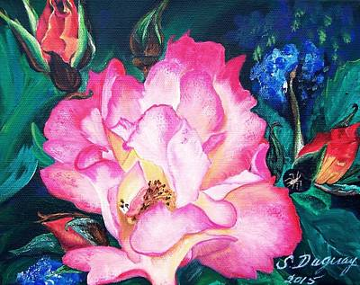 Painting - Wild Rose by Sharon Duguay