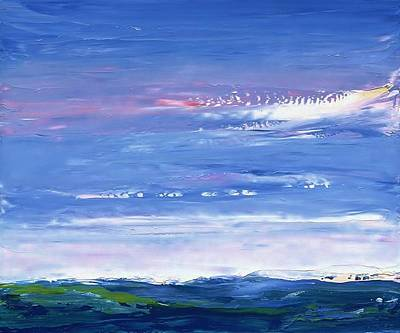 Painting - Wild Sea 1999 by Karl Leonhardtsberger