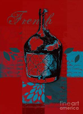 Digital Art - Wild Still Life - 0102b - Red by Variance Collections