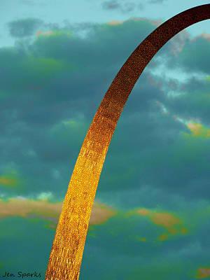 Digital Art - Wild Stl by Jen Sparks