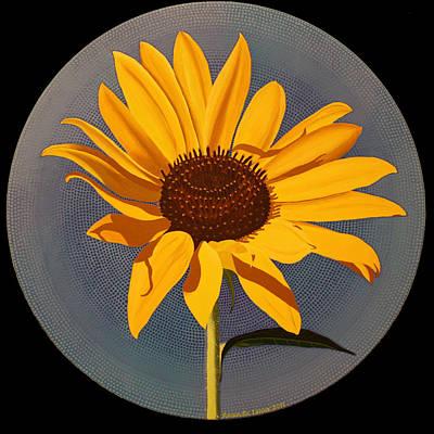 Painting - Wild Sunflower by Amanda  Lynne