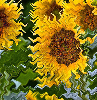 Photograph - Wild Sunflowers by Bill Owen