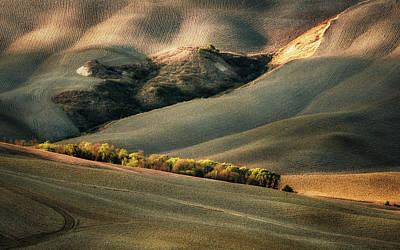 Autumn Field Wall Art - Photograph - Wild Tuscany by Marek Boguszak