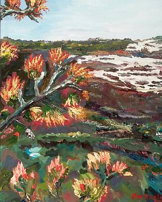 Painting - Wild Vegetation by Ray Khalife