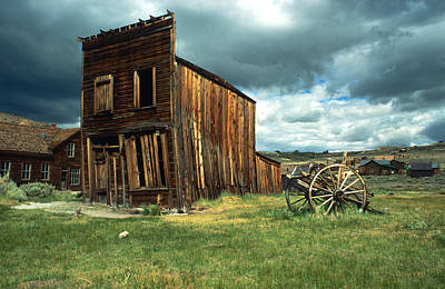 Old Western Photograph - Wild West Bodie by Kathy Yates