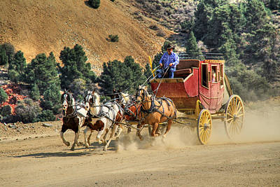 Photograph - Wild West Ride 2 by Donna Kennedy