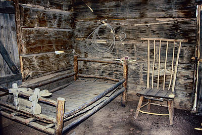Photograph - Wild Wild West Guest Room by John Haldane