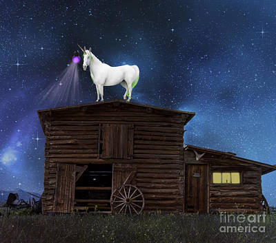 Log Cabins Photograph - Wild Wild West by Juli Scalzi