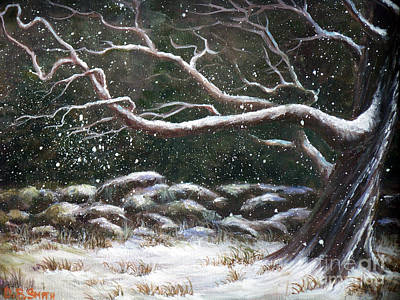 Painting - Wild Winter by Deborah Smith