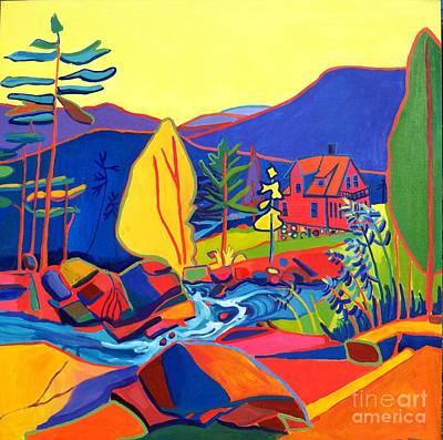 Painting - Wildcat River House by Debra Bretton Robinson