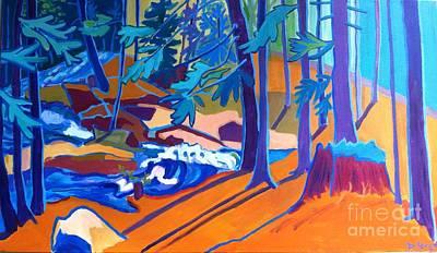 Painting - Wildcat River Walk by Debra Bretton Robinson