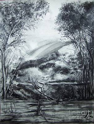 Drawing - Wilderness by Laneea Tolley
