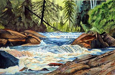 Wilderness River I Art Print