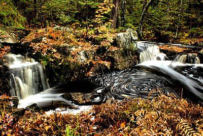 Photograph - Wilderness Waterfall by Matthew Winn