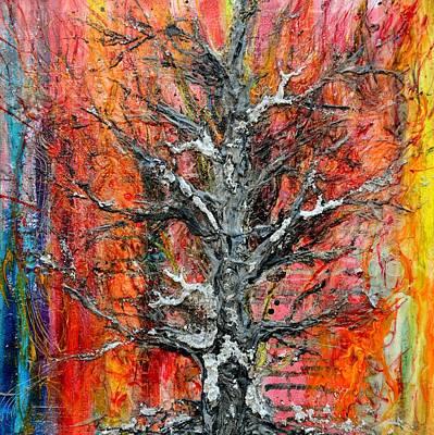 Painting - Wildfire by Regina Valluzzi