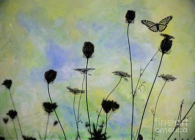 Photograph - Wildflower Garden by Karen Lewis