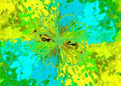 Elegant Mixed Media - Wildflower by Margaret Ivory