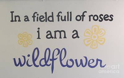 Photograph - Wildflower Phrase by Kay Novy