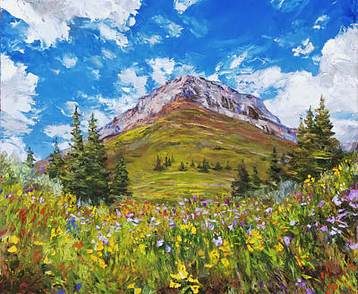 Painting - Wildflower Summer by Steven Boone