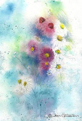 Wildflowers Art Print by Joan Hartenstein