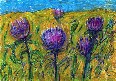 Wildflowers Art Print by Yuri Lushnichenko