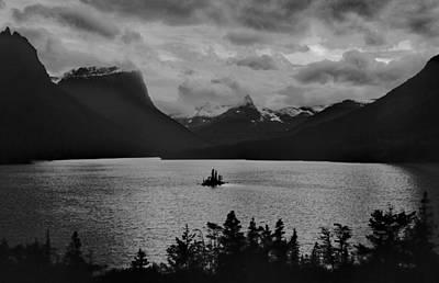 Photograph - Wildgoose Island Bw by Jim Dollar