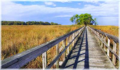 Photograph - Wildlife Refuge Boardwalk by Carolyn Derstine