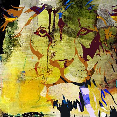 Wildlife Mixed Media - Wildlife Tiger by Marvin Blaine