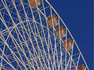 Photograph - Wildwood - Ferris Wheel I by Richard Reeve
