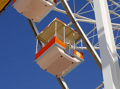 Photograph - Wildwood - Ferris Wheel II by Richard Reeve