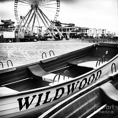 Photograph - Wildwood Black Square by John Rizzuto